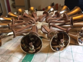 Picture of the refurbished handbells